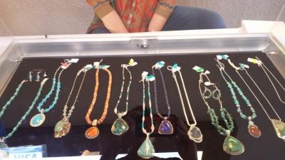Unique Large Stone Necklaces